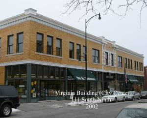 111 s ninth st virginia building courtesy of the Historical Preservation Commission and FitzImages Photography