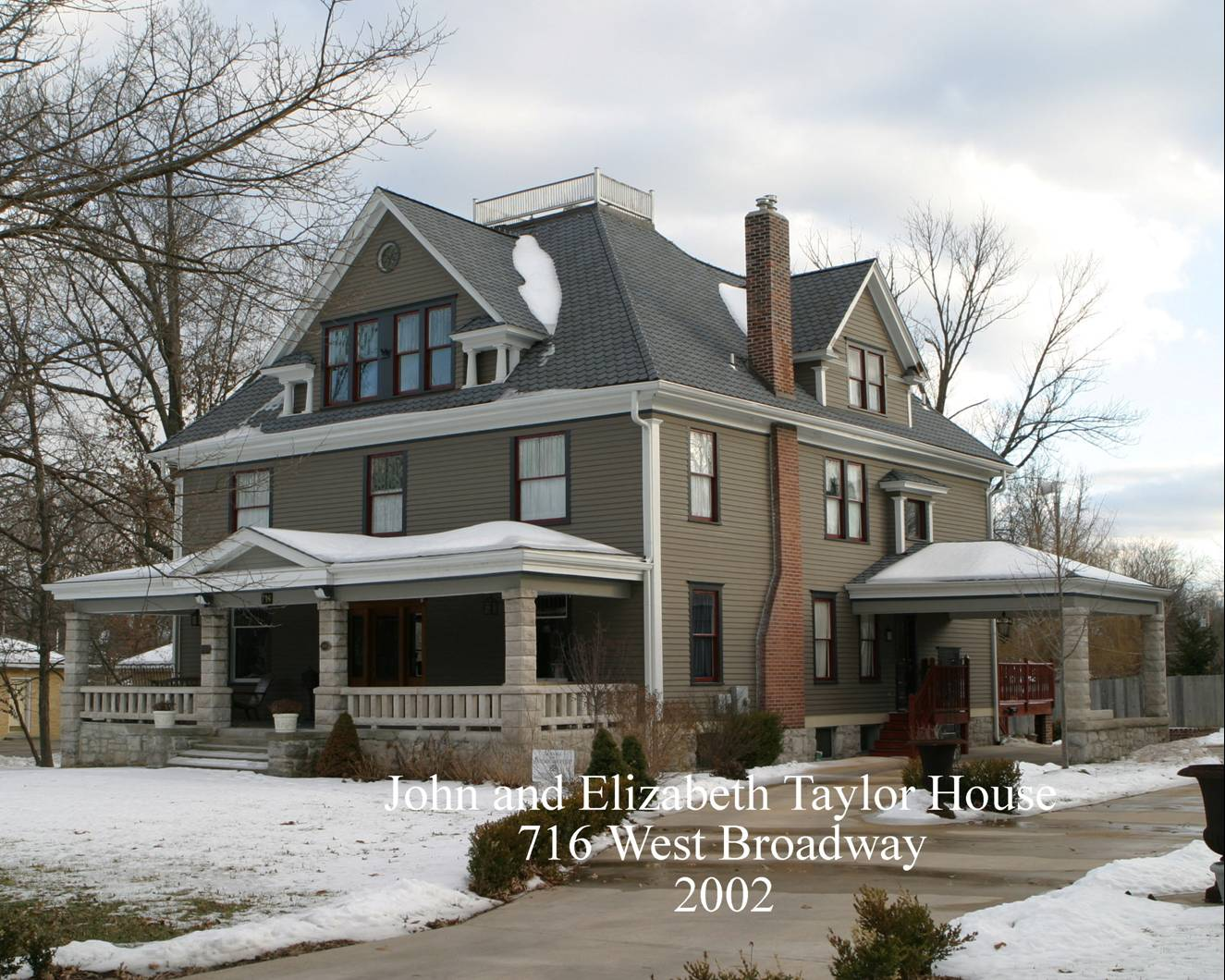 716 W  Broadway – The Taylor Home – Columbia Historic Homes