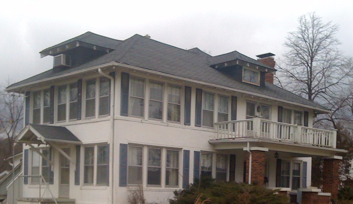 A 2010 photo of 2911 Old 63 S., Annie Fisher home, demolished 2011.