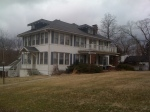 The home of Annie Fisher at 2911 Old 63 S. Demolished 2011.