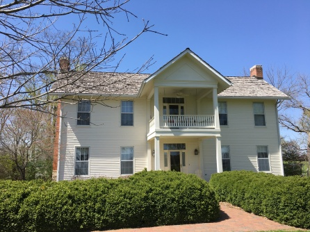 A 2018 view of 8939 W. Terrapin Hills Road, a National Register of Historic Places home.